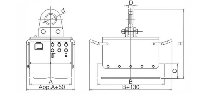电池式电永磁起重器_充电式电永磁起重器,蓄电池式电永磁铁—『龙海起重工具』