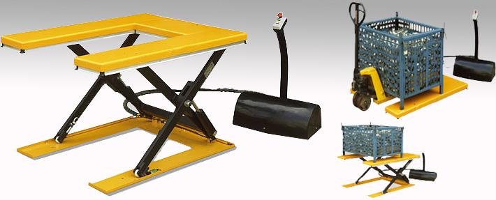 u型电动液压升降平台—『龙海起重工具高端品牌商城图片