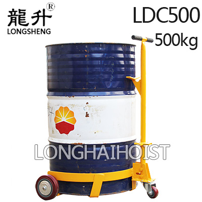 低位油桶搬运车,低放型油桶搬运车—『龙海起重高端