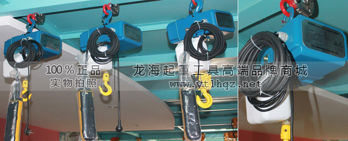 mn-500迷你环链电动葫芦(kd进口)—『龙海起重工具』